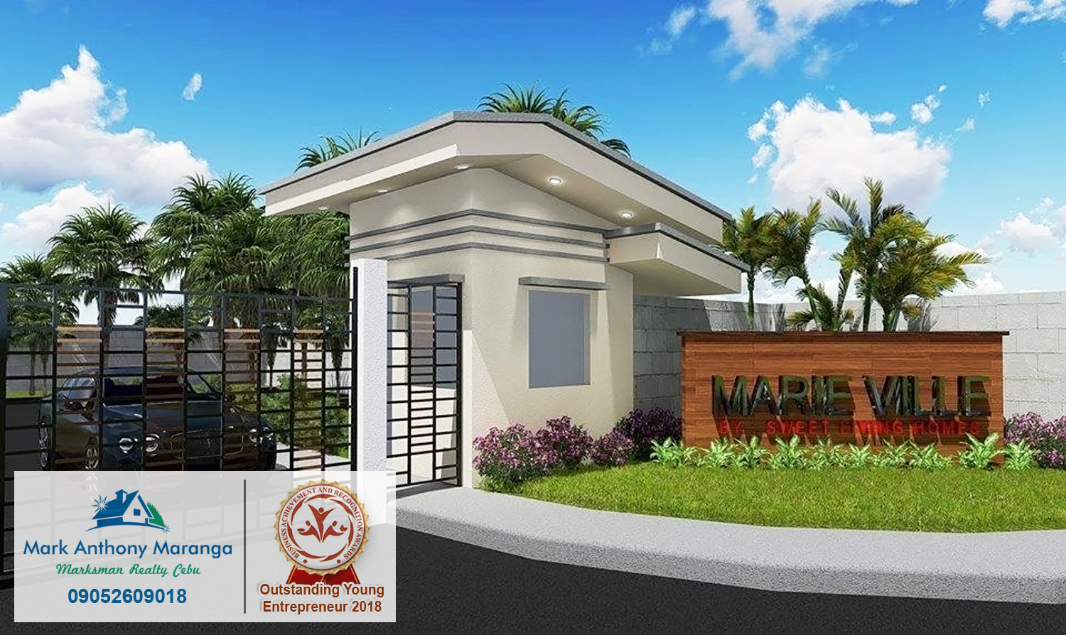 Marie Ville Subdivision Lot Ibabao Cordova Lot Only Cebu